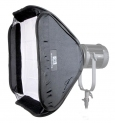 Softbox do LED Fresnel CN-100F