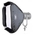 Softbox do LED Fresnel CN-100F